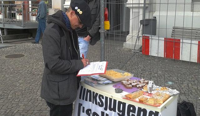Bundesweiter aktionstag umfairteilen in mecklenburg for Kuchen stralsund